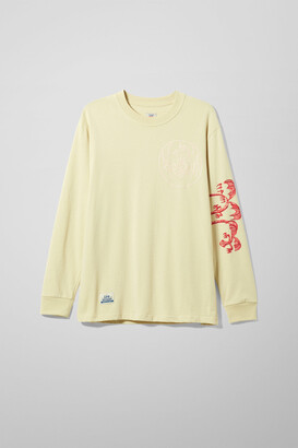 Weekday Eyeball Long Sleeve - Yellow