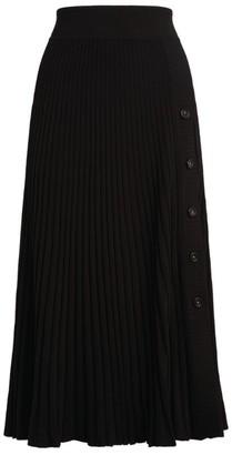 Sportmax Carta Ribbed Midi Skirt