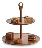 Nambe 'The Skye Collection' Wood Tiered Dessert Stand