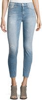 Hudson Nico Skinny-Fit Distressed Jeans, Light Blue