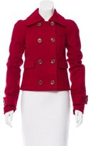 Rachel Zoe Wool Short Coat