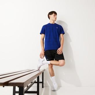 Lacoste Men's SPORT Crew Neck Graphic Print Cotton Tennis T-shirt