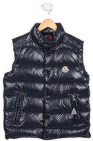 Moncler Boys' Tib Puffer Vest w/ Tags