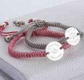 Hurleyburley Junior Girl's Personalised Zodiac Friendship Bracelet