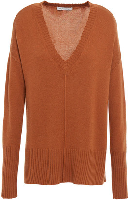 Autumn Cashmere Distressed Knitted Sweater