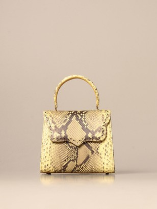 Tari' Rural Design Ab2 Small Tarigrave; Rural Design Bag In Python Leather