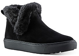 Cougar Women's Duffy Polar Plush Waterproof Suede Booties