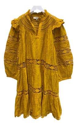 Sea New York Gold Cotton Dresses