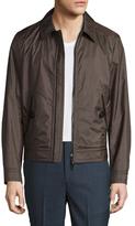 Tom Ford Nylon Spread Collar Jacket