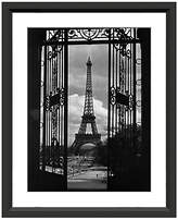 William Stafford Eiffel Tower Through Gates Art