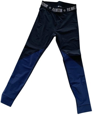 P.E Nation Black Synthetic Trousers