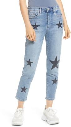 Blank NYC BLANKNYC Star Patch Crop Skinny Jeans