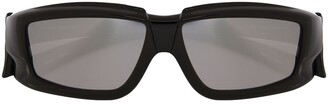 Rick Owens Rectangular Frame Sunglasses
