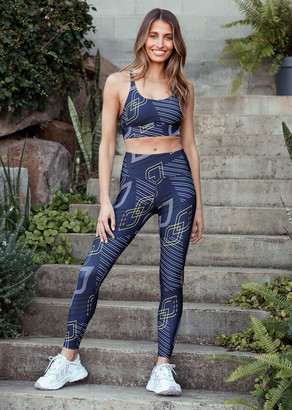 Lorna Jane Logo Mania Core Full Length Tight