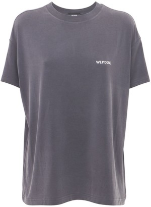 we11done Logo Jersey T-shirt