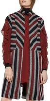 BCBGeneration Striped Longline Vest