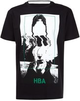 Hood by Air frame print T-shirt