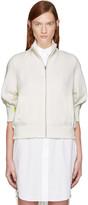Sacai Off-white Knit Jacket
