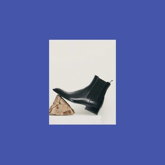 Sandro Smooth leather Chelsea boots