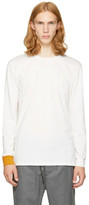 3.1 Phillip Lim White Long Sleeve Double T-shirt