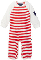 Toobydoo Chase Striped Jumpsuit (Baby Boys)