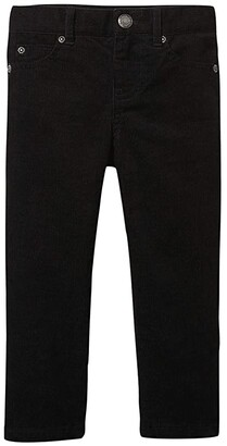 Janie and Jack Straight Cord Pants (Toddler/Little Kids/Big Kids) (Black) Boy's Casual Pants