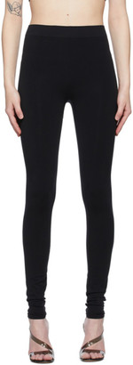 Helmut Lang Black Jersey Leggings