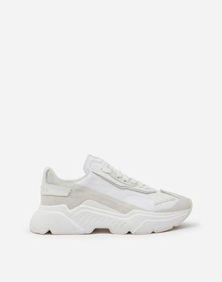 Dolce & Gabbana Daymaster Sneakers In Stretch Knit Fabric