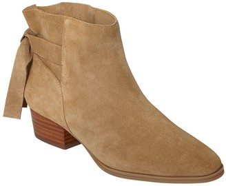 Aerosoles Low Heel Leathe Ankle Boots - Crosswalk