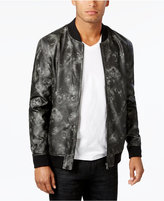 INC International Concepts Men's Faux-Leather Bomber Jacket, Created for Macy's