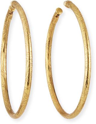 Gas Bijoux Maori Large Hoop Earrings