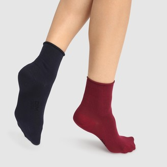 Dim Pack of 2 Pairs of Ankle Socks