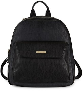 Calvin Klein Faux Leather Backpack