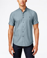 INC International Concepts Men's Shorts-Sleeve Deft Shirt, Only at Macy's