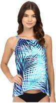 Miraclesuit Palm Reader Peephole Tankini Top