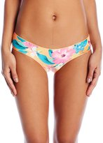 Rip Curl Women's Paradiso Tropical Print Cheeky Hipster Bikini Bottom