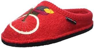 Haflinger Women's Flair Radl Open Back Slippers, ()