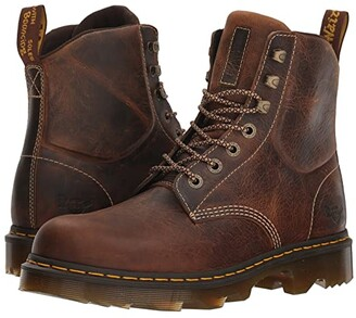 Dr. Martens Work Crofton Lightweight Heritage (Tan Greenland) Men's Boots