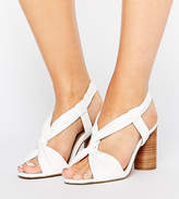 Asos TALLULAH Wide Fit Heeled Sandals