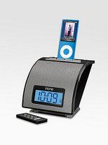 iHome Spacesaver Alarm Clock for iPod?