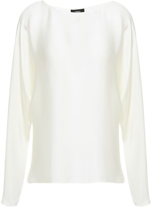 Theory Silk-charmeuse Blouse