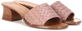 Bottega Veneta Leather slip-on sandals