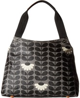 Orla Kiely Wild Daisy Print Classic Zip Shoulder Bag Shoulder Handbags