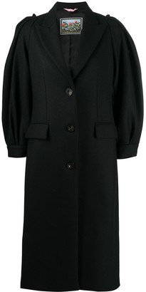 VIVETTA Single-Breasted Midi Coat
