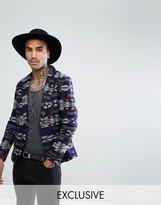 Reclaimed Vintage Aztec Blazer