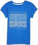 Nautica Little Girls' Triple Sparkle Tee (2T-7)