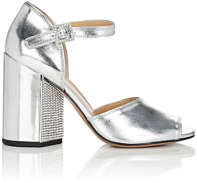 Marc Jacobs Women's Kasia Specchio Leather Sandals