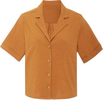Anemos The Maq Linen-Blend Top