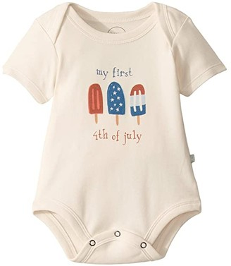 Finn + emma Popsicles Graphic Bodysuit (Infant) (White) Kid's Jumpsuit & Rompers One Piece