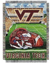 NCAA Virginia Tech Hokies Home Field Advantage College Throw
